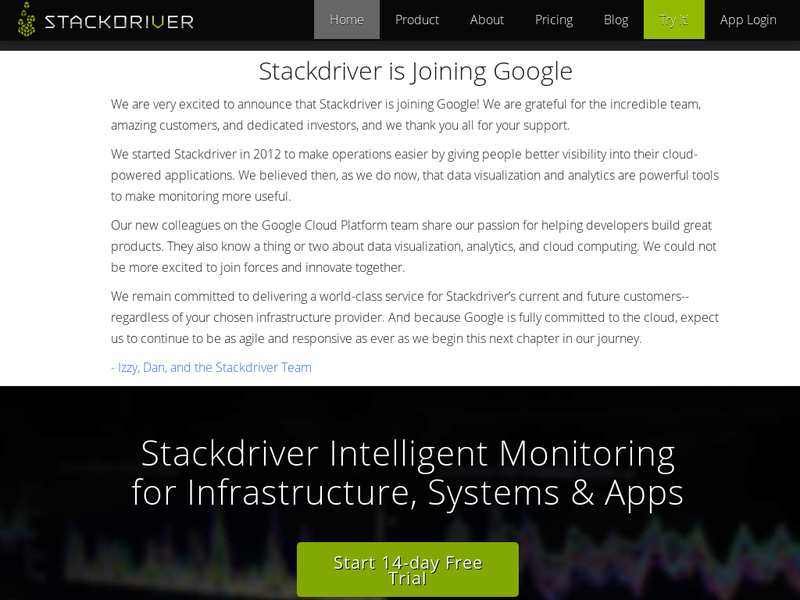 Images from Stackdriver