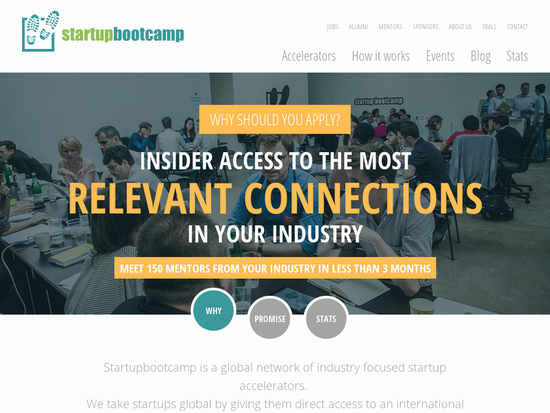 Images from Startupbootcamp FinTech
