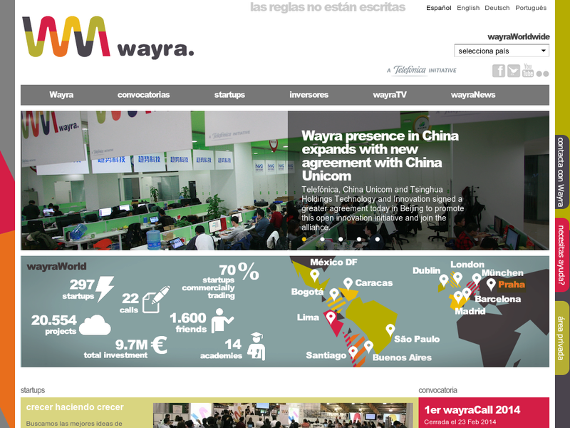 Images from Wayra UK