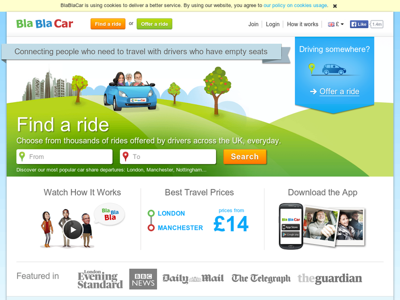 Images from BlaBlaCar