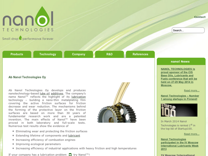 Images from Nanol Technologies