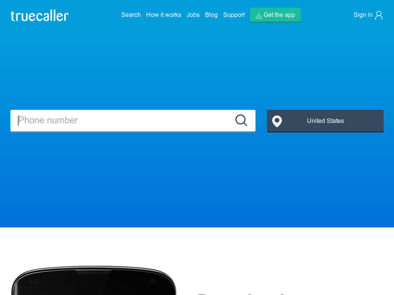 Images from Truecaller