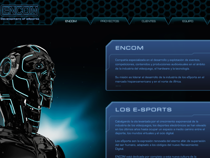 Images from Encom