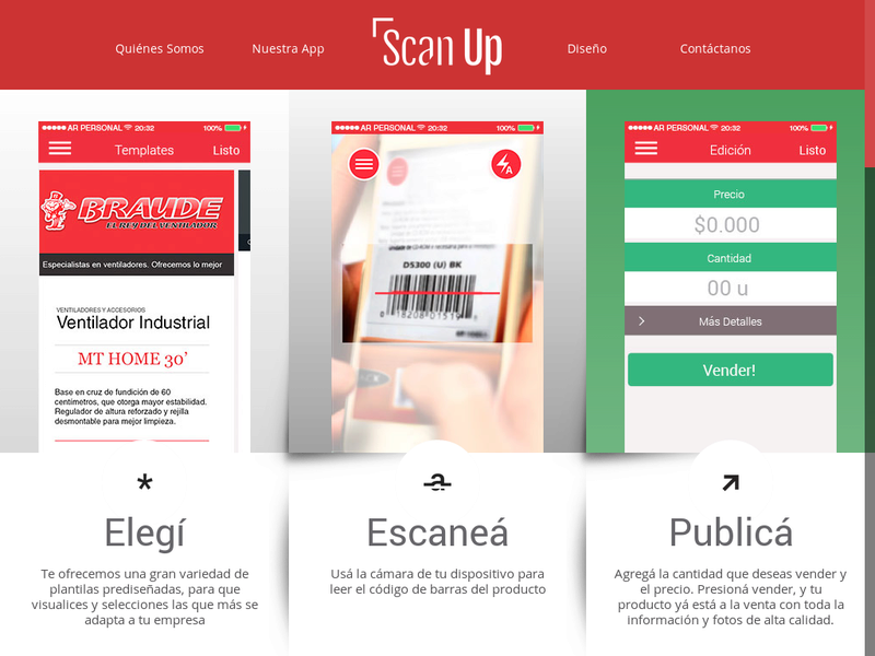 Images from ScanUp