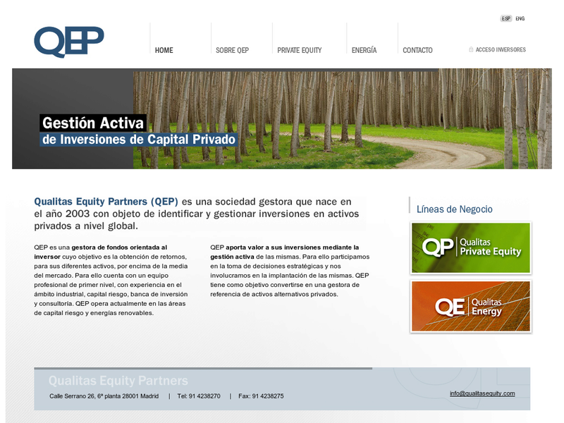 Images from Qualitas Equity Partners (QEP)