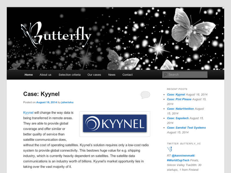 Images from Butterfly ventures