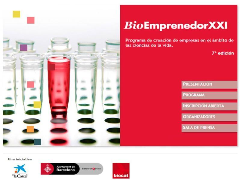 Images from BioEmprendedor XXI