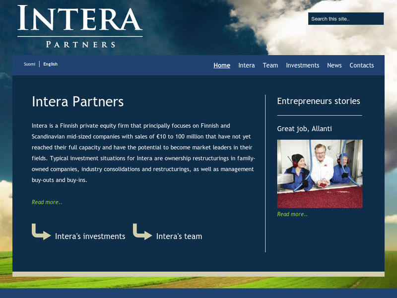 Images from Intera Partners