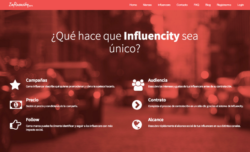 Images from Influencity