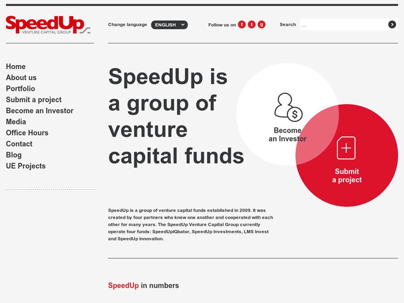 Images from SpeedUp Venture Capital Group