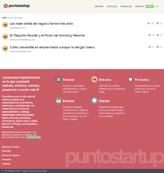 Images from PuntoStartup