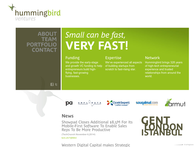 Images from Hummingbird Ventures