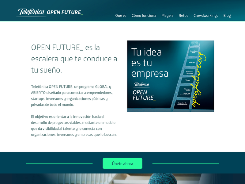 Images from Telefonica OPEN FUTURE