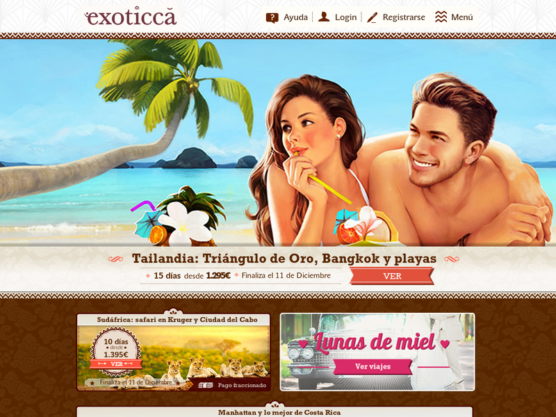 Images from Exoticca