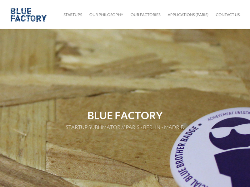 Images from Blue Factory