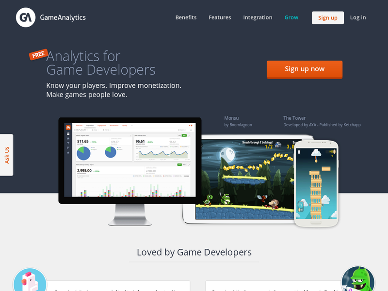 Images from GameAnalytics