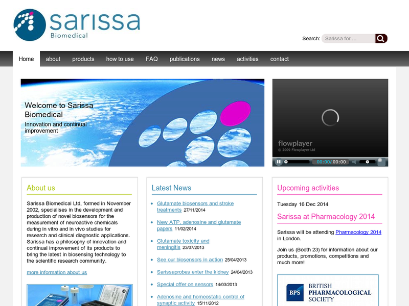 Images from Sarissa Biomedical