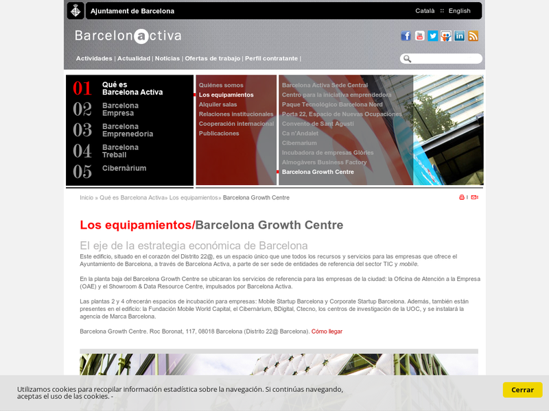 Images from Barcelona Growth Centre