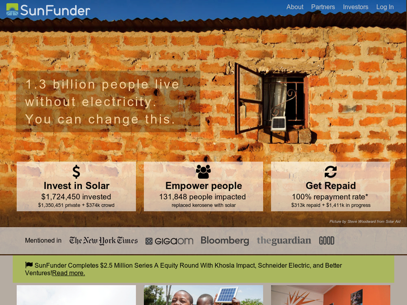 Images from SunFunder