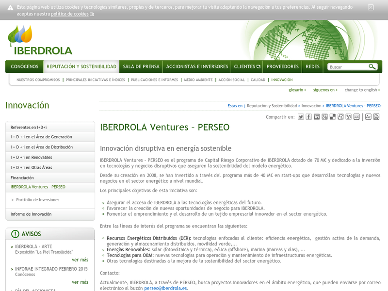 Images from Iberdrola Ventures (Perseo)