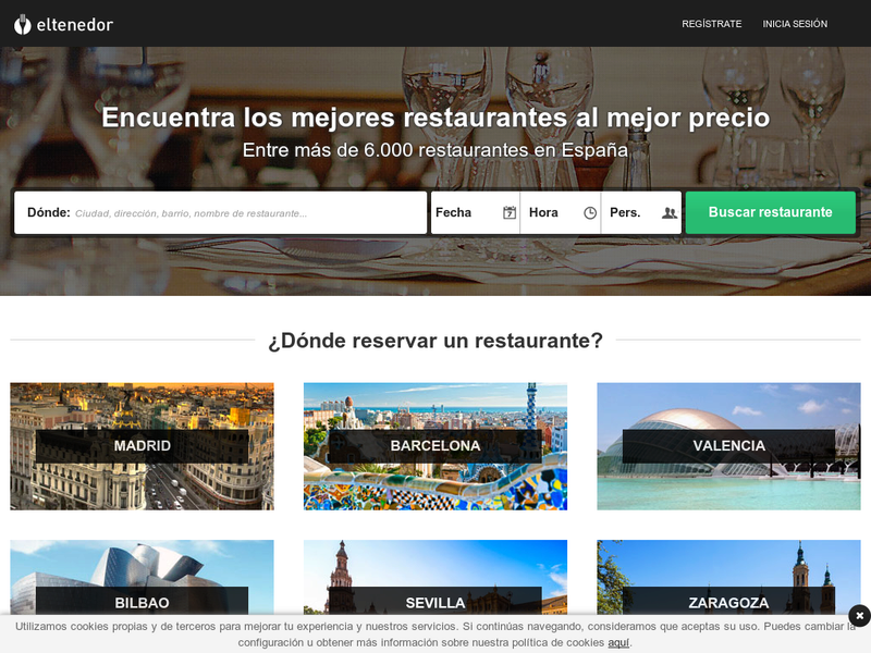 Images from El Tenedor