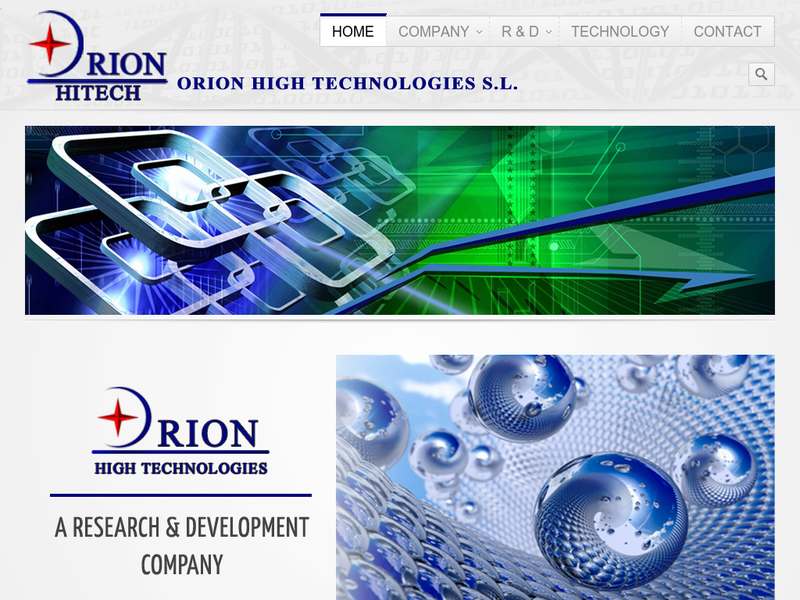 Images from ORION HIGH TECHNOLOGIES S.L.