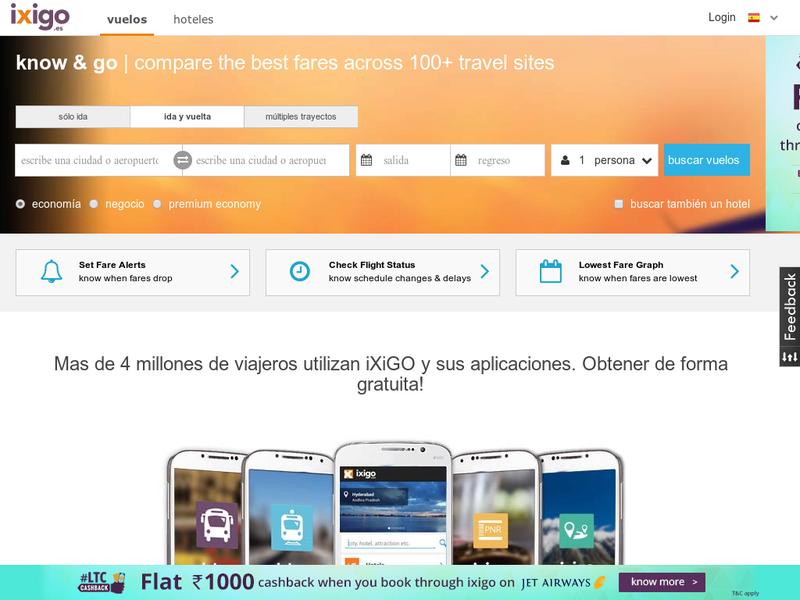 ixigo com profile at Startupxplore