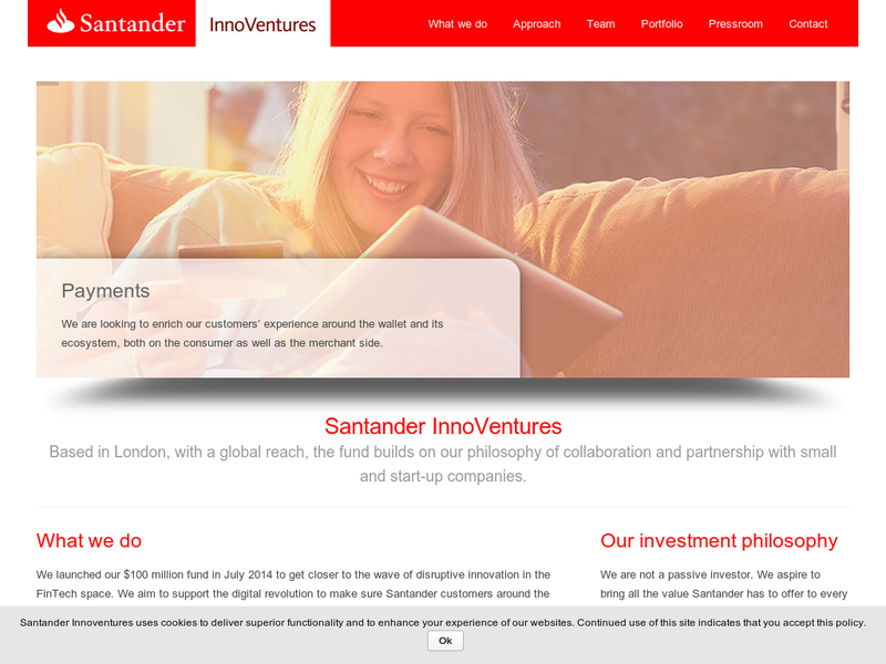 Images from Santander InnoVentures