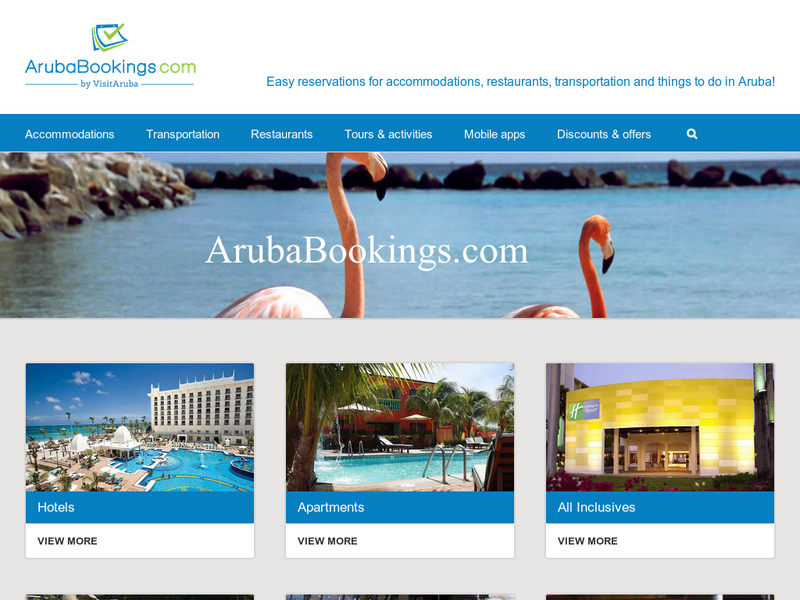 Images from Aruba Bookings