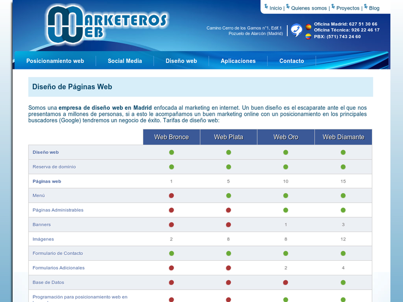 Images from Marketerosweb