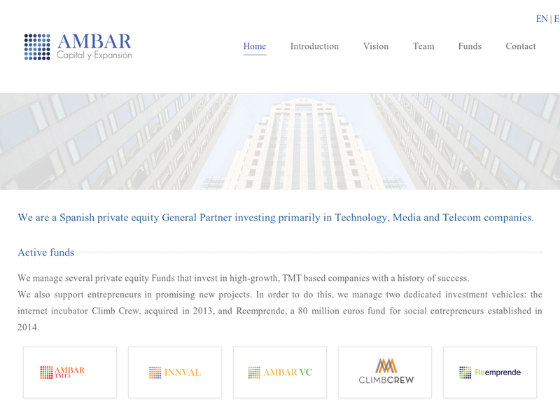 Images from Ambar Venture Capital