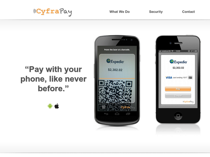 Images from CyfraPay