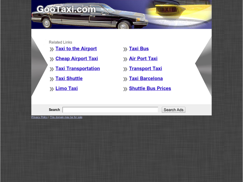 Images from GooTaxi