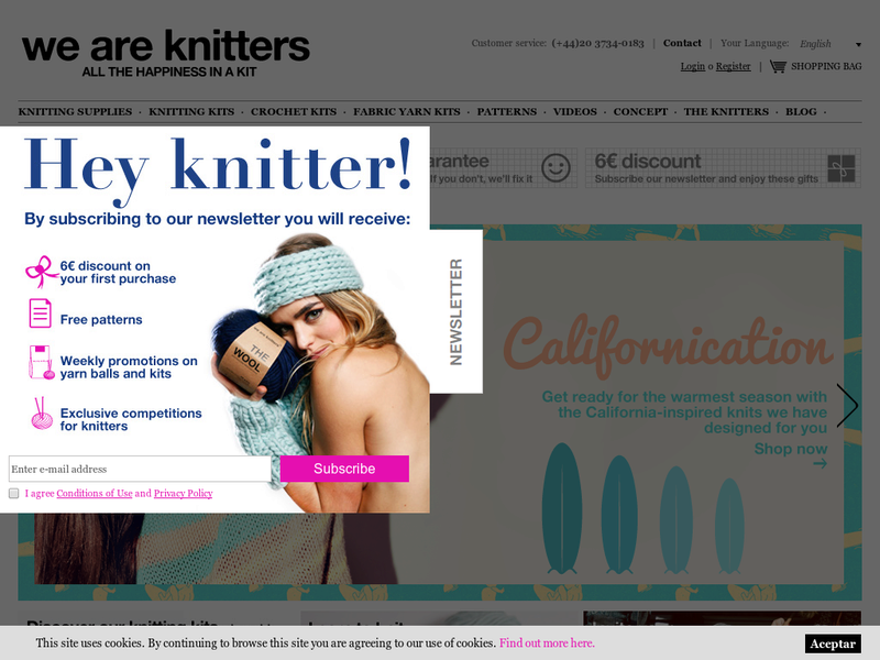 Images from We Are Knitters