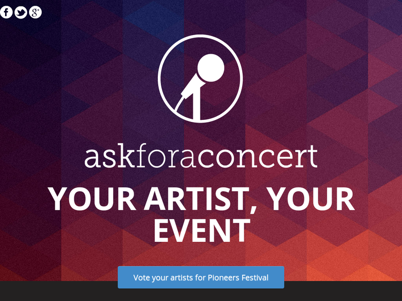 Images from Ask For a Concert