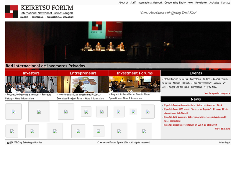 Images from Keiretsu Forum Spain