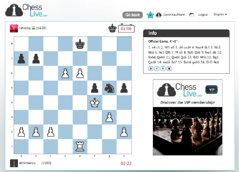 Images from Chess Live