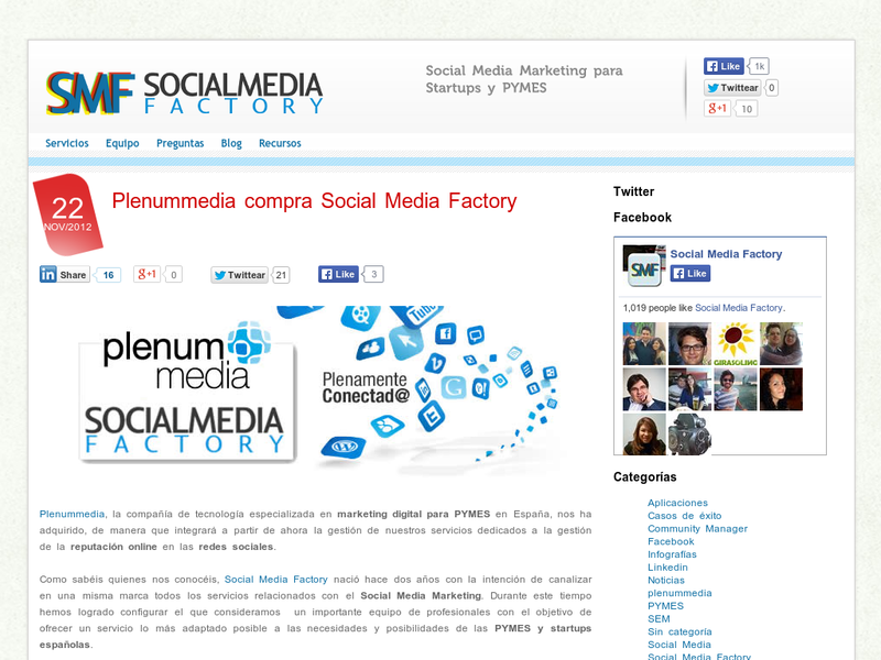 Images from Social Media Factory