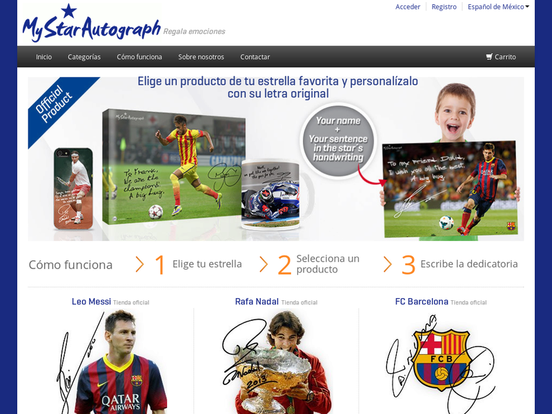 Images from MyStarAutograph