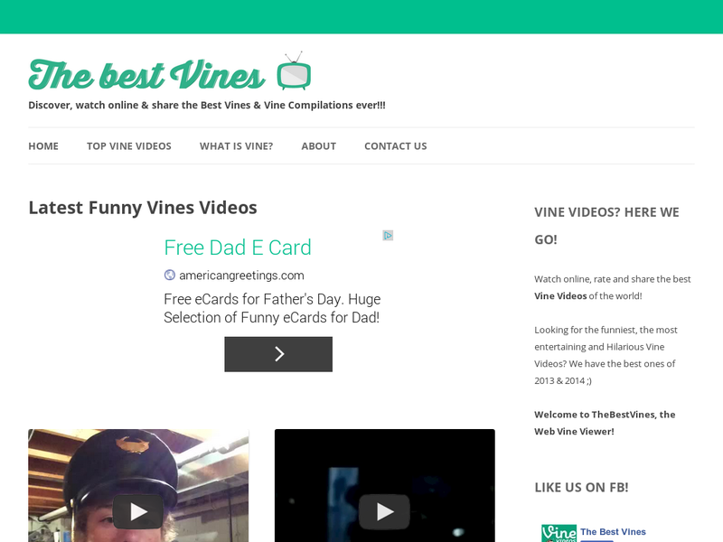 Images from The Best Vines