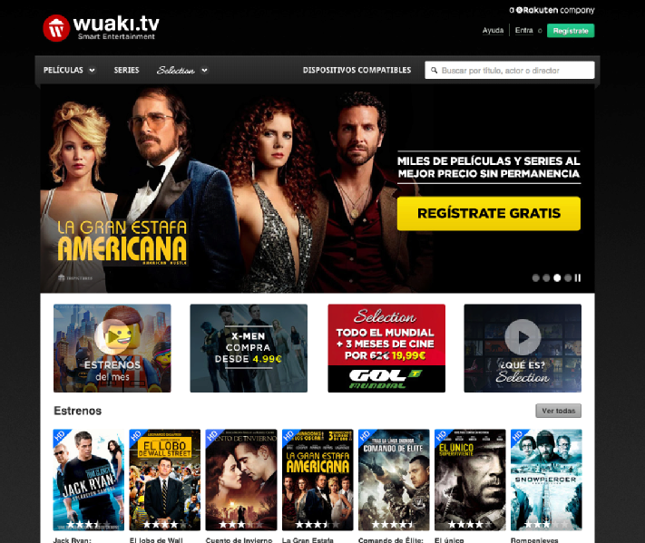 Images from Wuaki.tv