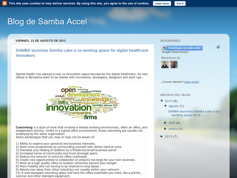 Images from Samba accel