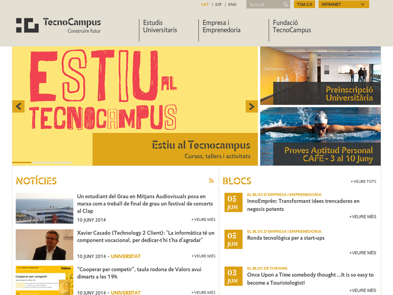 Images from TecnoCampus