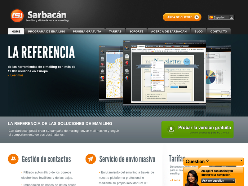 Images from Sarbacán Software