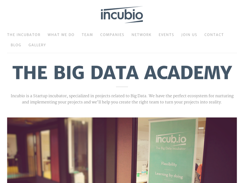 Images from Incubio