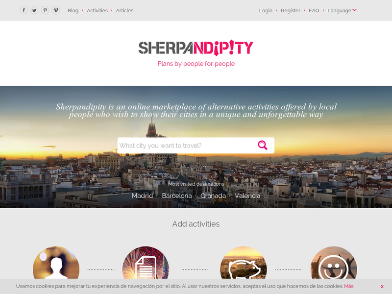 Images from Sherpandipity