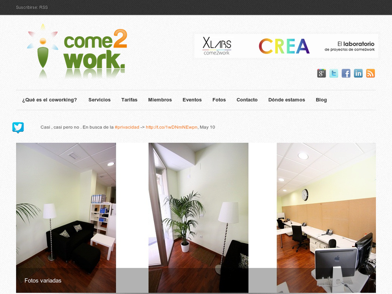 Images from COME2WORK-UP