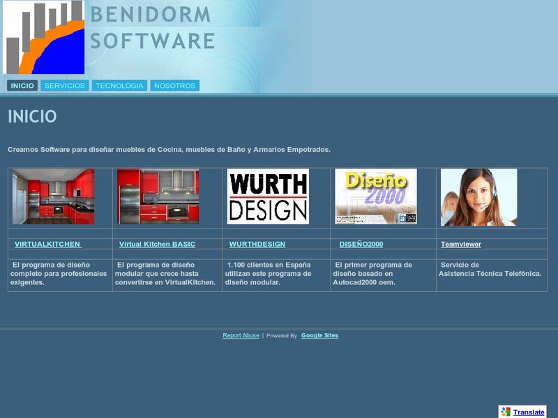 Images from Benidorm Software
