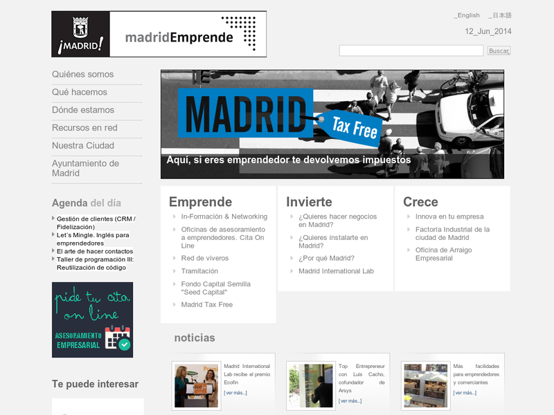 Images from Madrid Emprende
