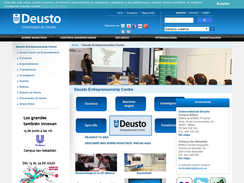 Images from University of Deusto